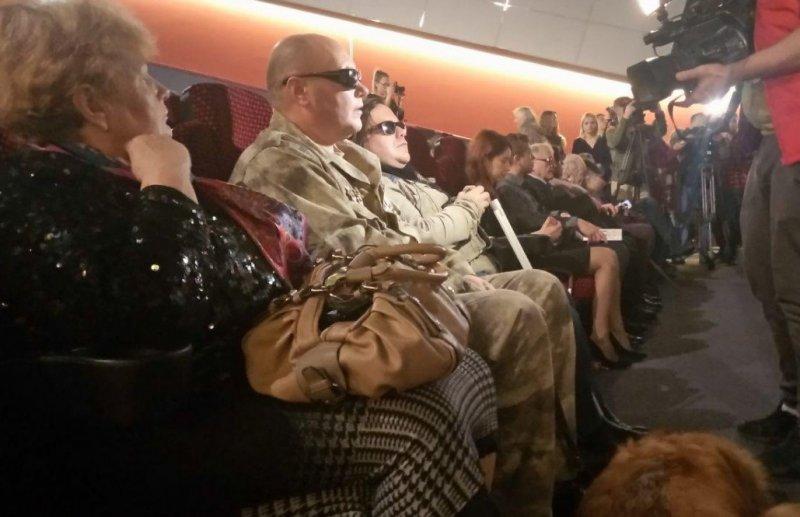 У Кам'янці-Подільському презентували стрічку для незрячих про кам'янчанина, який втратив зір в АТО