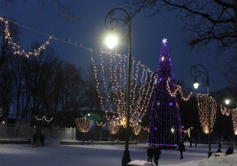 У Кам'янці-Подільському сьогодні запалять головну новорічну ялинку